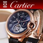 CARTIER-302-08 卡地亞新款礦物質超強鏡面機械機芯男士腕表