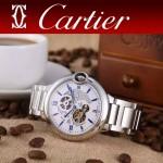CARTIER-302-07 卡地亞新款礦物質超強鏡面機械機芯男士腕表