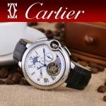CARTIER-302-011 卡地亞新款礦物質超強鏡面機械機芯男士腕表