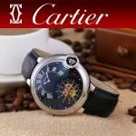 CARTIER-302-03 卡地亞新款礦物質超強鏡面機械機芯男士腕表