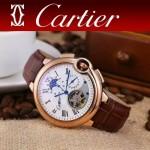 CARTIER-302-09 卡地亞新款礦物質超強鏡面機械機芯男士腕表