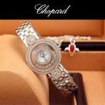 Chopard-036-017 蕭邦HAPPY DIAMONDS雙包珠女表CNC鉆鑲嵌表