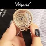 Chopard-035-02 蕭邦Happy sport走珠系列鑲鉆女士腕表