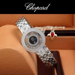 Chopard-036-015 蕭邦HAPPY DIAMONDS雙包珠女表CNC鉆鑲嵌表