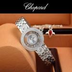 Chopard-036-016 蕭邦HAPPY DIAMONDS雙包珠女表CNC鉆鑲嵌表