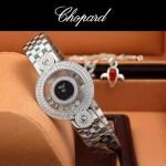 Chopard-036-013 蕭邦HAPPY DIAMONDS雙包珠女表CNC鉆鑲嵌表