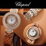 Chopard-036-07 蕭邦HAPPY DIAMONDS雙包珠女表CNC鉆鑲嵌表