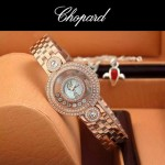 Chopard-036-03 蕭邦HAPPY DIAMONDS雙包珠女表CNC鉆鑲嵌表