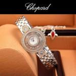 Chopard-036-05 蕭邦HAPPY DIAMONDS雙包珠女表CNC鉆鑲嵌表
