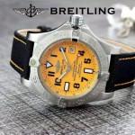 BREITLING-058-11 歐美男士Avenger Seawolf復仇者系列深潛海狼皮帶款腕錶