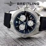 BREITLING-058-16 歐美男士Avenger Seawolf復仇者系列深潛海狼皮帶款腕錶