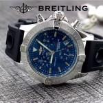 BREITLING-058-14 歐美男士Avenger Seawolf復仇者系列深潛海狼硅膠款腕錶