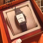 GUCCI-072-02 名媛必備時尚藍寶石鏡面女士手表