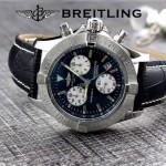 BREITLING-058-15 歐美男士Avenger Seawolf復仇者系列深潛海狼皮帶款腕錶