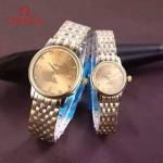 OMEGA-171-04 歐米茄316散珠粒精鋼表帶全自動機械機芯情侶腕表