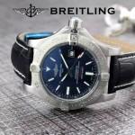 BREITLING-058-9 歐美男士Avenger Seawolf復仇者系列深潛海狼皮帶款腕錶