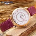 Longines-96-04 浪琴最新進口石英機芯藍寶石水晶鏡面女性腕表