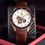 Ferrari法拉利-076-4 時尚精品男士Autormatic超跑賽車系列日本原裝西鐵城機械腕錶