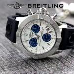 BREITLING-058-21 歐美男士Avenger Seawolf復仇者系列深潛海狼皮帶款腕錶