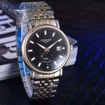 Longines-98-05 浪琴博雅系列最新出品兩針半男仕腕表