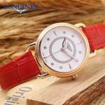 Longines-96-02 浪琴最新進口石英機芯藍寶石水晶鏡面女性腕表