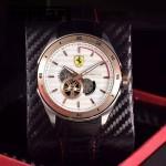 Ferrari法拉利-076-8 時尚精品男士Autormatic超跑賽車系列日本原裝西鐵城機械腕錶