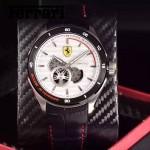 Ferrari法拉利-076-6 時尚精品男士Autormatic超跑賽車系列日本原裝西鐵城機械腕錶