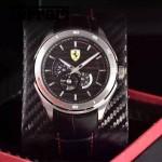 Ferrari法拉利-076-9 時尚精品男士Autormatic超跑賽車系列日本原裝西鐵城機械腕錶