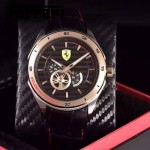 Ferrari法拉利-076-7 時尚精品男士Autormatic超跑賽車系列日本原裝西鐵城機械腕錶