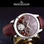 JAEGER-047-5 全新男士Master Date Tourbilon大師系列精確計時皮帶款腕錶