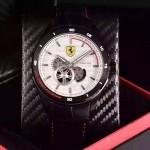 Ferrari法拉利-076-3 時尚精品男士Autormatic超跑賽車系列日本原裝西鐵城機械腕錶