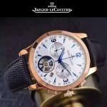 JAEGER-047 全新男士Master Date Tourbilon大師系列精確計時皮帶款腕錶