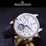 JAEGER-047-7 全新男士Master Date Tourbilon大師系列精確計時皮帶款腕錶