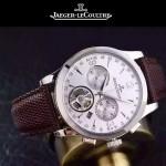 JAEGER-047-6 全新男士Master Date Tourbilon大師系列精確計時皮帶款腕錶