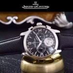 JAEGER-047-4 全新男士Master Date Tourbilon大師系列精確計時皮帶款腕錶