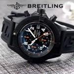BREITLING-058-25 歐美男士Avenger Seawolf復仇者系列深潛海狼硅膠款腕錶