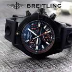 BREITLING-058-22 歐美男士Avenger Seawolf復仇者系列深潛海狼硅膠款腕錶