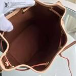 LV M40817-01 名媛必備時尚款NOE BB系列原版皮水桶包