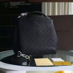 LV M50031-03 潮流時尚BABYLONE系列Mahina小牛皮激光沖孔原版皮手袋