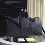LV N41416-01 人氣熱銷經典款Keepall 50原版皮旅行袋