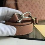 LV M50031-02 潮流時尚BABYLONE系列Mahina小牛皮激光沖孔原版皮手袋