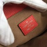 LV M50031-05 潮流時尚BABYLONE系列Mahina小牛皮激光沖孔原版皮手袋