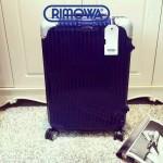 RIMOWA 1522-06 德國日默瓦潮流奢華機場必備凹造型利器高圓圓同款拉杆箱旅行箱