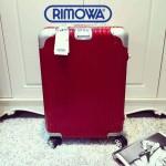 RIMOWA 1522-03 德國日默瓦潮流奢華機場必備凹造型利器高圓圓同款拉杆箱旅行箱
