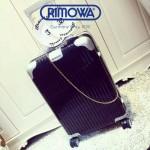 RIMOWA 1522-01 德國日默瓦潮流奢華機場必備凹造型利器高圓圓同款拉杆箱旅行箱