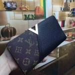 LV M56174-4 人氣熱銷新款Kimono經典老花配黑色皮長款錢包