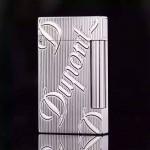 S.T Dupont打火機-024 都彭超薄款激光雕刻丁烷充氣打火機點煙器
