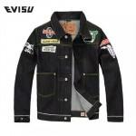 EVISU-035 原單 福神韓版口袋牛仔外套原色赤耳牛仔夾克