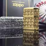 ZIPPO打火機-06 專櫃限量版雕花禮盒打火機點煙器