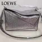 Loewe-050-010 專櫃時尚新款loewe puzzle系列原版小牛皮手提斜挎包